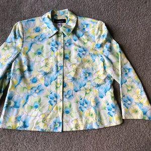Jones New York jacket Sz 16W lined